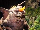 『大ゴジラ特撮王国 YOKOHAMA』で展示されている『ゴジラ・モスラ・キングギドラ 大怪獣総攻撃』(2001年)パラゴン (C)ORICON NewS inc.
