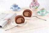 『チョコレートクリームロールケーキ』