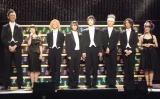(左から)林野健志、田上真里奈、三上俊、櫻井圭登、末原拓馬、羽場涼介、堀越涼、小槙まこ (C)ORICON NewS inc.
