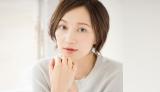 撮影前のスペシャルスキンケアを語るモデルの愛可/(C)Junko Tamaki