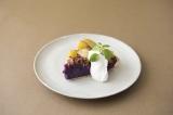 『紫芋のスイートポテトタルト』