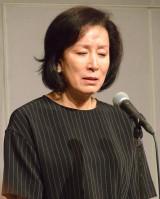 息子・高畑裕太容疑者の逮捕を受けて謝罪会見を行った高畑淳子 (C)ORICON NewS inc.
