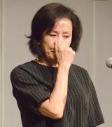 涙ながらに謝罪会見を行った高畑淳子 (C)ORICON NewS inc.