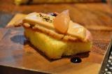 「信州グリルコンボディナー」の「アペタイザープレート」(カモのロースト&信州リンゴのピューレのせ)/東京マリオットホテル(東京・品川区)のレストラン「ラウンジ&ダイニングG」にて (C)oricon ME inc.