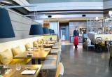 東京マリオットホテル(東京・品川区)のレストラン「ラウンジ&ダイニングG」 スタイリッシュで落ち着いた空間 (C)oricon ME inc.