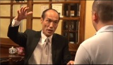 8月29日放送、テレビ朝日系『EXD44』の企画でネット住民と直接対決に臨んだ東国原英夫(C)テレビ朝日