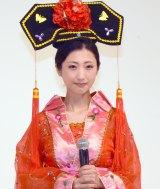 鮮やかな中国宮廷衣装で登場した壇蜜 (C)ORICON NewS inc.