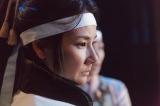 NHK大河ドラマ『真田丸』第36回より。沼田城に到着した昌幸一行に対して稲(吉田羊)は(C)NHK