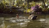 人間の少年モーグリ意外はすべてCGの映画『ジャングル・ブック』(C)2016 Disney Enterprises, Inc. All Rights Reserved..
