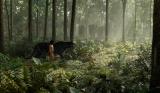 人間の少年モーグリ意外はすべてCG。映画『ジャングル・ブック』より(C)2016 Disney Enterprises, Inc. All Rights Reserved..