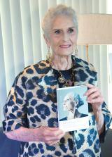 世界最高齢の現役ファッションモデル ダフネ・セルフさん=自伝本『人はいくつになっても、美しい』出版記念トークイベント (C)ORICON NewS inc.