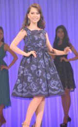 「ミス・ワールド2016」準ミス・ワールドに決定した千葉県出身のモデルで女優・ロバートソン夏妃さん (C)ORICON NewS inc.