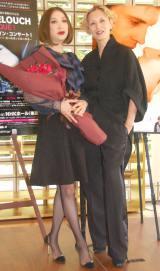 映画『男と女』製作50周年記念関連イベント合同記者発表会に出席した(左から)野宮真貴、夏木マリ (C)ORICON NewS inc.