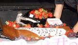 山崎賢人の誕生日ケーキ=映画『四月は君の嘘』公開直前イベント (C)ORICON NewS inc.