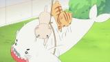 9月13日放送、NHK・Eテレのアニメ『少年アシベ GO!GO!ゴマちゃん』ゴマちゃんVSネコ 夢の対決が実現!(C)森下裕美・OOPTeam Goma.