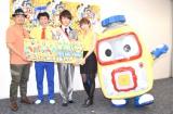 (左から)石平信司監督、ちゅうえい、瀧上伸一郎、井澤詩織 (C)ORICON NewS inc.