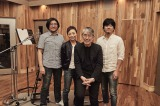 (写真左から)冨田恵一、クミコ、松本隆氏、秦基博
