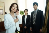 テレビ朝日系ドラマ『刑事7人』第8話(9月7日放送)より。左からゲストの山本未來、倉科カナ、高嶋政宏(C)テレビ朝日