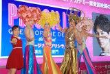 ミュージカル『プリシラ』製作発表に出席した(左から)キンタロー。、ユナク、山崎育三郎、陣内孝則、古屋敬多 (C)ORICON NewS inc.