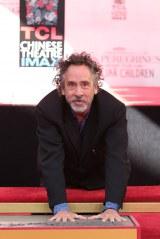 ハリウッド殿堂入りを果たしたティム・バートン監督