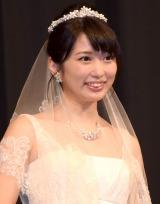 花嫁姿で結婚願望を明かした志田未来 (C)ORICON NewS inc.