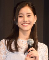 映画『泣き虫ピエロの結婚式』完成披露試写会に出席した新木優子 (C)ORICON NewS inc.