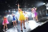全国ツアー初日公演で両A面シングル発売を発表したPASSPO☆