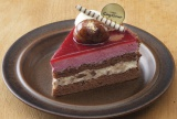 『カシスとマロンのケーキ』(442円)