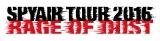 『SPYAIR TOUR 2016 RAGE OF DUST』ツアーロゴ