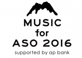『MUSIC for ASO 2016 supported by ap bank』ロゴ