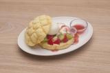 『雪見なメロンパン』