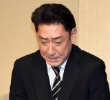 会見中に神妙な表情を見せた中村橋之助 (C)ORICON NewS inc.