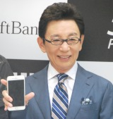 『iPhone 7、iPhone 7 Plus 発売セレモニー』に出席した古舘伊知郎 (C)ORICON NewS inc.