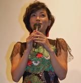 結婚とおめでたを祝福され感激する遠藤久美子 (C)ORICON NewS inc.