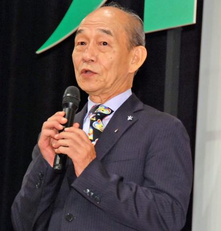 映画『オケ老人!』完成披露試写会に登壇した笹野高史 (C)ORICON NewS inc.