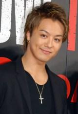 映画『HiGH&LOW THE RED RAIN』完成舞台あいさつに出席したTAKAHIRO (C)ORICON NewS inc.