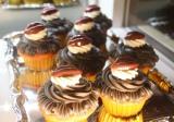 唇のチョコレートを乗せたカップケーキもキュート (C)oricon ME inc.
