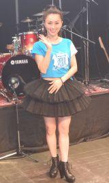 『酒井法子30th ANNIVERSARY コンサート』後の囲み取材に応じた酒井法子 (C)ORICON NewS inc.