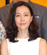 NHK連続テレビ小説『ひよっこ』の主演を務める木村佳乃 (C)ORICON NewS inc.