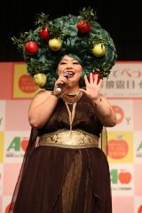 青森りんごでべっぴん倍増計画』お披露目イベントの模様