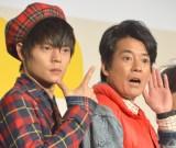 『THE LAST COP/ラストコップ』に出演する(左から)窪田正孝、唐沢寿明 (C)ORICON NewS inc.