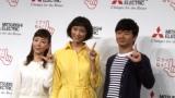 (左から)戸田恵子、杏、若林正恭 (C)ORICON NewS inc.