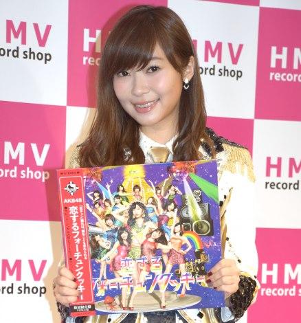 「恋チュン」が嫌いだったと明かしたHKT48・指原莉乃=『HMV record shop 新宿ALTA』のオープン記念内覧会 (C)ORICON NewS inc.