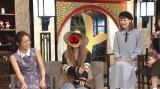 『上には上がいるもんだ』で岡田結実(左)と母・祐佳がテレビ初共演。オンエアでは顔がオープンとなる(C)日本テレビ