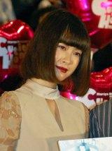 映画『CUTIE HONEY -TEARS-』初日舞台あいさつに登壇した今井れん (C)ORICON NewS inc.