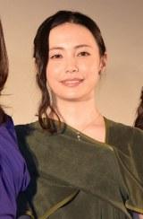 映画『カノン』公開記念舞台あいさつに登壇したミムラ (C)ORICON NewS inc.
