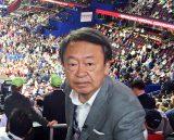 10月3日、テレビ東京系『Newsモーニングサテライト』でジャーナリストの池上彰氏が米ニューヨークから大統領選の情勢を生解説(C)テレビ東京