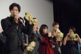 映画『彼岸島 デラックス』完成披露上映会舞台あいさつの模様 (C)ORICON NewS inc.