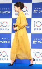『簡易生命保険誕生100周年記念イベント』に出席した高畑充希 (C)ORICON NewS inc.