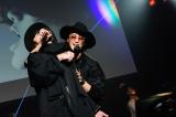 JINTAKAのデビューシングル「Choo Choo SHITAIN」リリース記念イベントの模様
